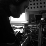 Trond, recording session in Berlin 2010